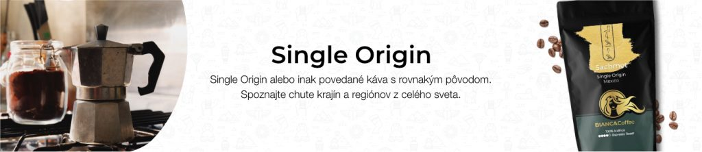 BIANCA Coffee Single Origin Banner