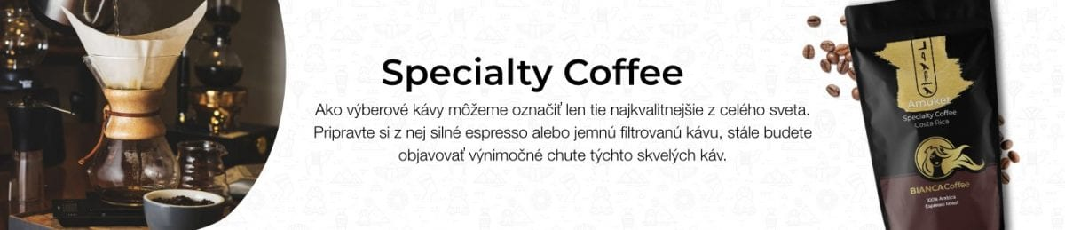 BIANCA Specialty Coffee Banner